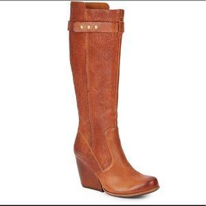 Kork-Ease Shawna Tall Wedge Boot Stunning Tan